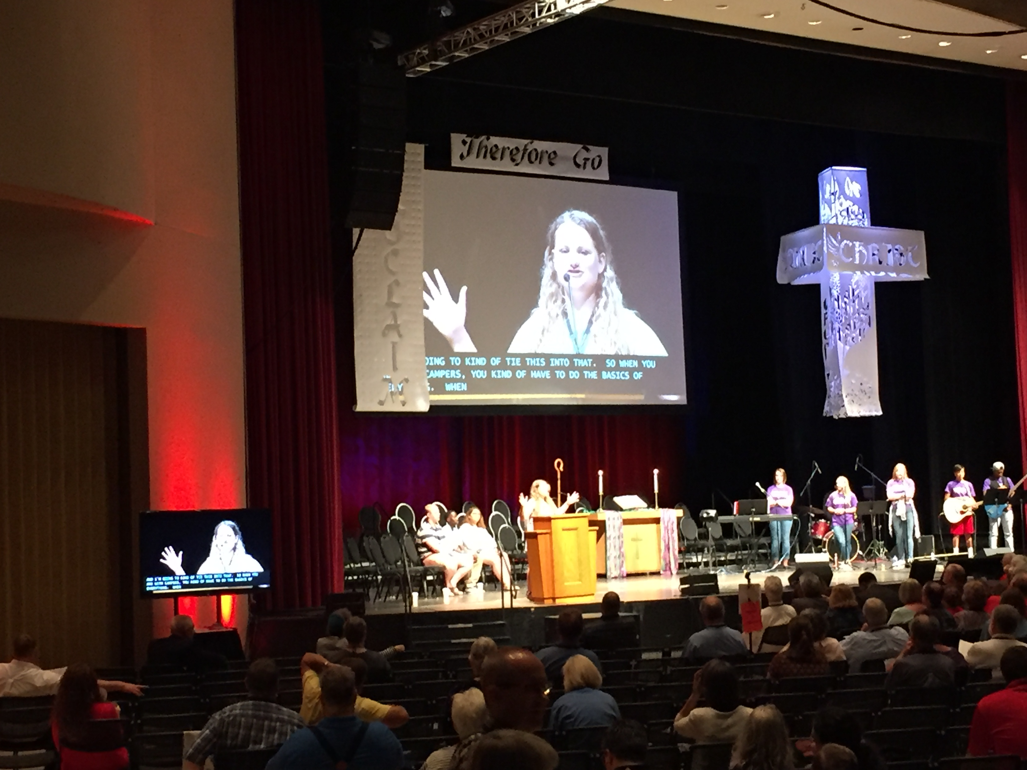 Annual Conference, Day 3 – Grace United Methodist Church